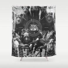 L'octole XIV Shower Curtain