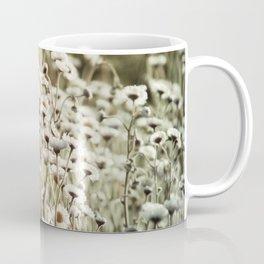 Life is But a Dream -- Vintage Wildflowers Daisies Asters Fleabane Coffee Mug