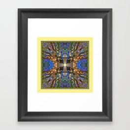 MADRONA TREE MANDALA Framed Art Print