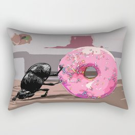The Doughnut Collector Rectangular Pillow