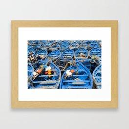 Row row row your boat Framed Art Print