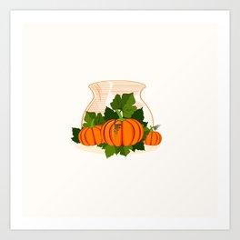 C13D Its Pumpkin Time Art Print
