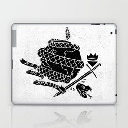 Be Not Afraid In This World Laptop & iPad Skin