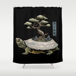 The Legendary Kame Shower Curtain