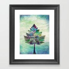 The Magical Tree Framed Art Print