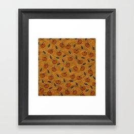 Autumn Texture Framed Art Print