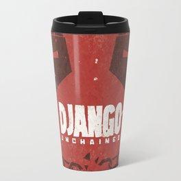 Django Unchained -  Quentin Tarantino Minimal Movie Poster Travel Mug