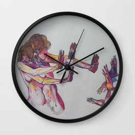 fvck you/don't leave me Wall Clock
