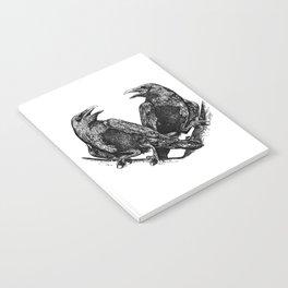 Odins Ravens Huginn and Muninn Notebook