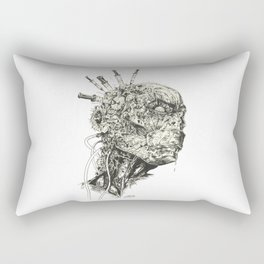 Growing Insanity Rectangular Pillow