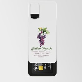 Butler Ranch Android Card Case