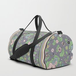 Sporty retro millennial Duffle Bag