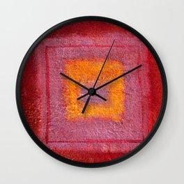 Vision Quest #spiritual #abstract #decor #society6 #texture Wall Clock
