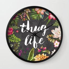 Thug Life Wall Clock