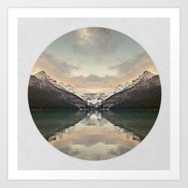 Escaping Reality Art Print
