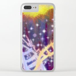 You'll make choices you think are right, and then suffer for them. Clear iPhone Case