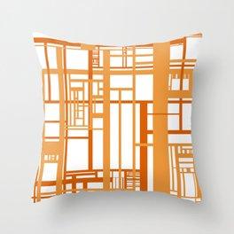 Scaffold Throw Pillow