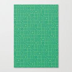 Symbol Sudoku Canvas Print
