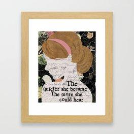 She Became Framed Art Print