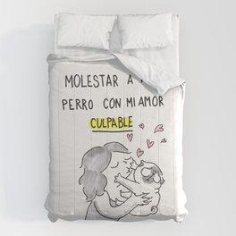 Molestar a mi perro con mi amor: CULPABLE Comforters