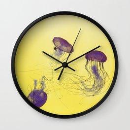 grape jellies Wall Clock