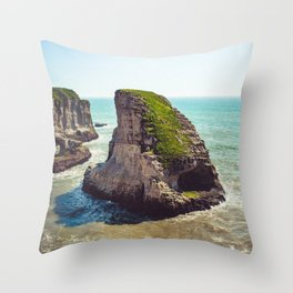 Shark Fin Cove Broad Day Throw Pillow