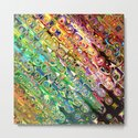 Colorful Glass Abstract by perkinsdesigns