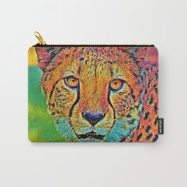 AnimalColor_Cheetah_001 Carry-All Pouch