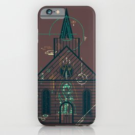 The Church of Ancient Horrors iPhone Case