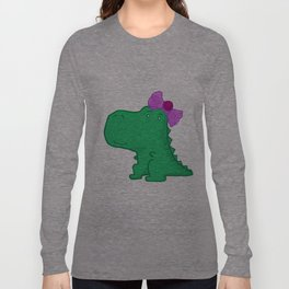 Dinogirl Long Sleeve T-shirt