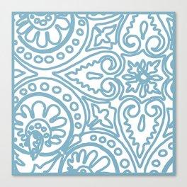 Dulce Wedgwood Blue Canvas Print