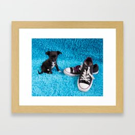 Molly & Chuck Framed Art Print