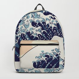 Digital copy of the Great wave Backpack