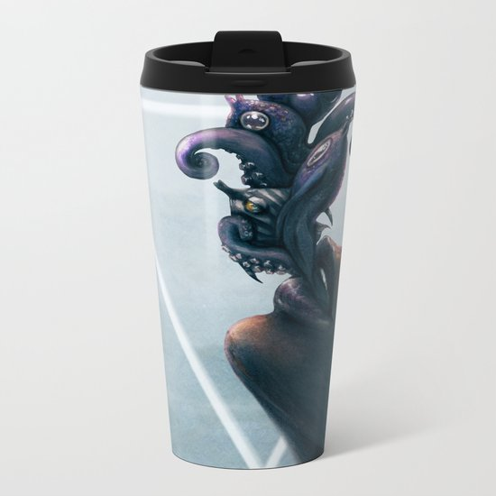 Effervescent in the Pure of Water Metal Travel Mug