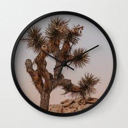 Joshua Tree XXVIII / California Desert Wall Clock