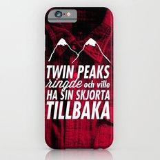 Twin Peaks Ringde iPhone 6s Slim Case
