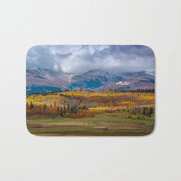 Fall in the Rockies Bath Mat