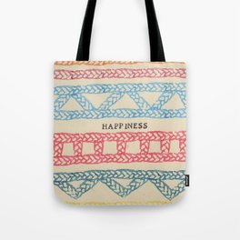 HAPPINESS ELM THE PERSON Tote Bag