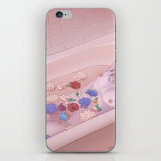 Flower Bath 9 iPhone & iPod Skin