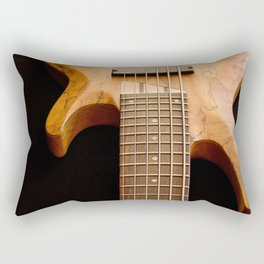 Music is a Moral Law ~ Bass Guitar Rectangular Pillow