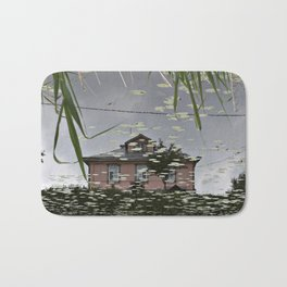 Suzdal, Russia. House Reflection Bath Mat