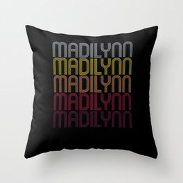 Madilynn Name Gift Personalized First Name Throw Pillow