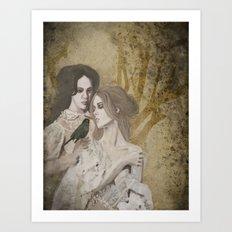 Sœurs de la Nuit Art Print