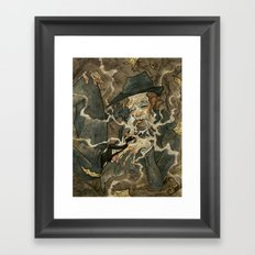 Waits Framed Art Print