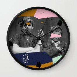 Smarten up your act! Wall Clock