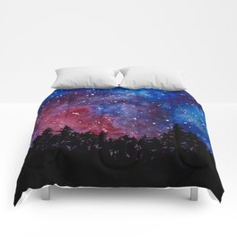 Forest Watercolors Comforters