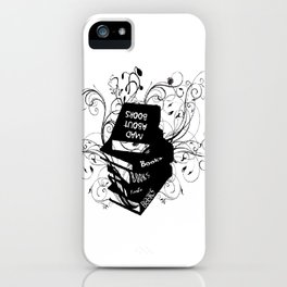 Mad About Books iPhone Case