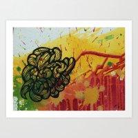 Widows nest  Art Print