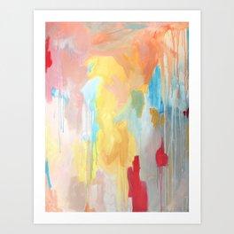 Abstract Study Art Print