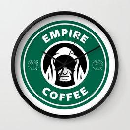 Empire Coffee Wall Clock